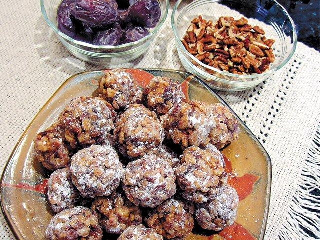 Mom's date nut balls