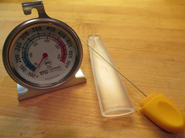 Cake tester & oven thermometer