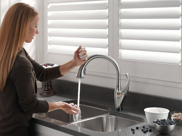 Ordinaire Touch This Faucet Anywhere To Turn Water On And Off Without Readjusting The  Flow Rate.