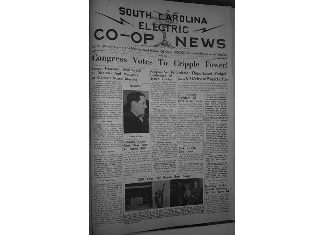 SCECN June '51 cover