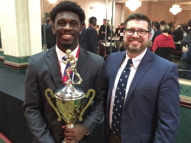 Tavien Feaster, 2015 Mr. Football