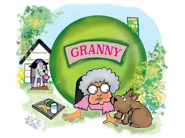 Safe as a pea in a granny pod