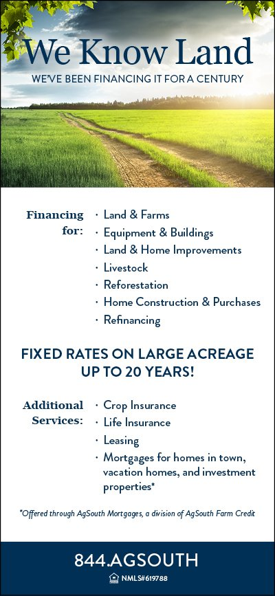 AgSouth Mortgage Ad June 2016