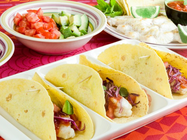 Make your own fish tacos for Create your own fish