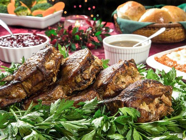 Herb-stuffed pork chops - www.scliving.coop
