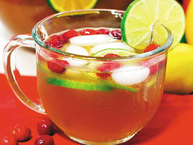 Crystal's Christmas punch