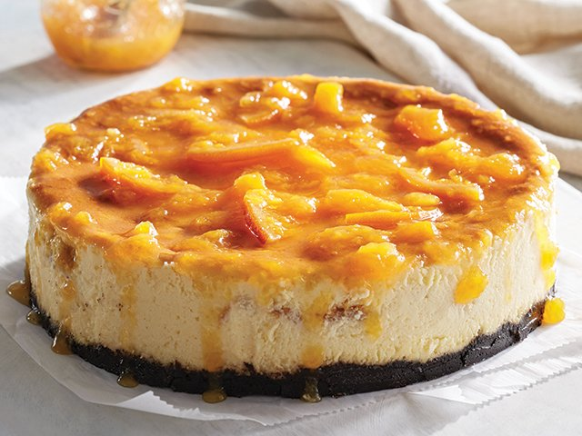 Peachy-Oreo Peach Cheese Cake 2.jpg