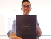 Rocketbook Everlast - Lifestyle - At Work - Professional Holding Up Book.png