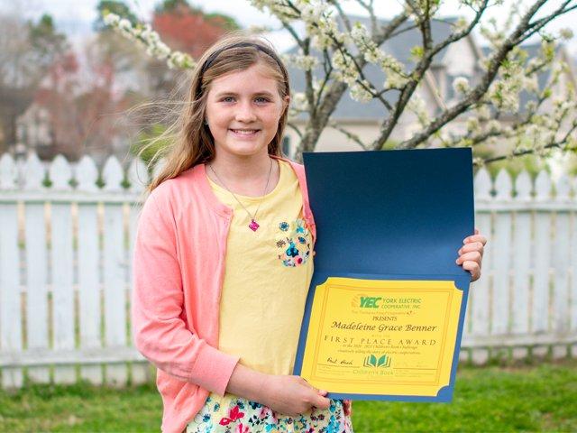 Madeleine Benner wins the 2021 Children's Book Challenge.png