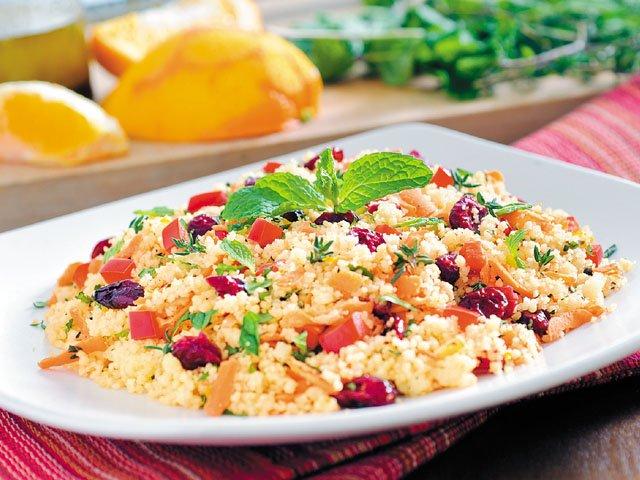 Citrus couscous salad
