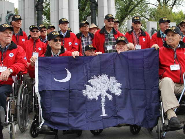 Honor Flight April 2013