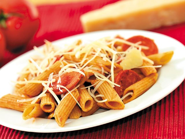 Spicy sassy pasta