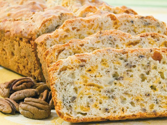 Catherine's cheese nut bread