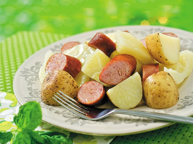 St. Paddy's cabbage dinner
