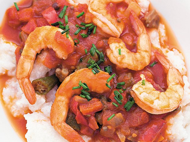 Really easy shrimp and grits